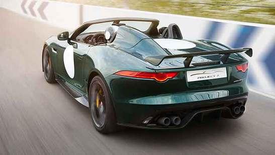 Jaguar F-Type Projekt 7