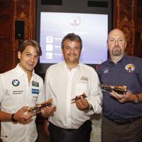 Augusto Farfus BMW DTM Österreich Peter Spatzierer Castrol Fahrer Wien 2014 Präsentation