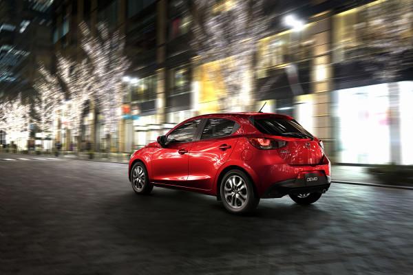 Mazda2_2014 Heck
