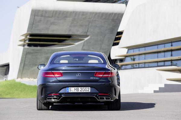 Mercedes-Benz S 65 AMG Coupé Heck