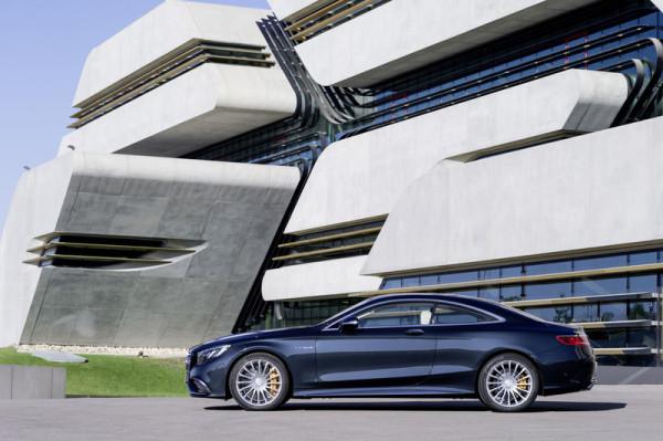 Mercedes-Benz S 65 AMG Coupé Seitenansicht