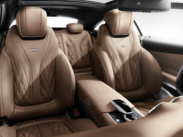 Mercedes-Benz S 65 AMG Coupé Sitze Innenraum