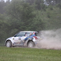 Schneebergland Rallye 2014 Suzuki Swift S1600 Andreas Aigner SP12