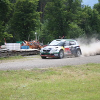 Schneebergland Rallye 2014 Skoda Fabia S2000 Raimund Baumschlager Thomas Zeltner SP12