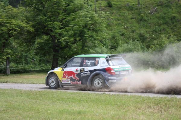 Rallye Skoda Raimund Baumschlager