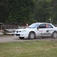 Schneebergland Rallye 2014 Subaru Impreza STI Michael Mascherbauer Claudia Dorfbauer SP 12
