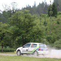 Schneebergland Rallye 2014 Renault Clio RS Martin Jakubowics SP12