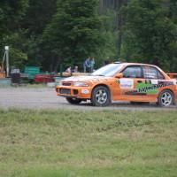 Schneebergland Rallye 2014 Mitsubishi Lancer EVO III Gerhard Hajszan Andrea Gibley SP12