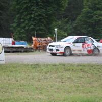 Schneebergland Rallye 2014 Mitsubishi Lancer EVO IX Anton Schatzeder SP12