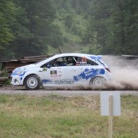 Schneebergland Rallye 2014 Opel Corsa Wolfram Doberer SP12