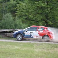 Schneebergland Rallye 2014 Peugeot 207 RC R3T Alois Handler Andreas Scherz SP12