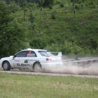 Schneebergland Rallye 2014 Subaru Impreza STI Michael Mascherbauer Claudia Dorfbauer SP12