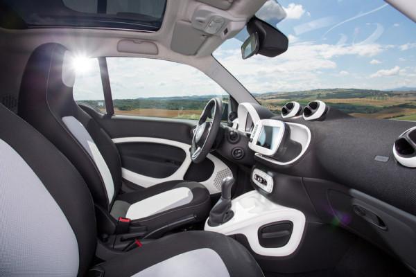neuer smart Innenraum