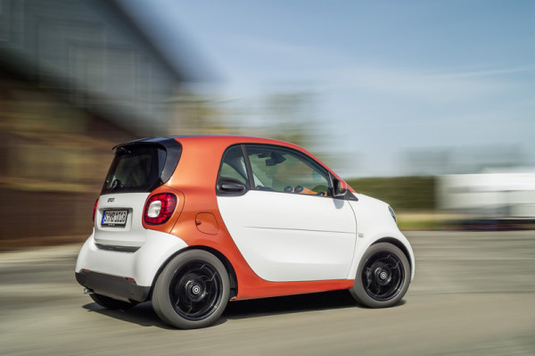 smart fortwo Ansicht