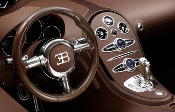 Bugatti Veyron 16.4 Grand Sport Vitesse Ettore Bugatti Cockpit