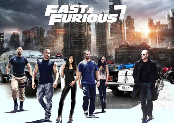 Fast and Furious 7 Film Kino