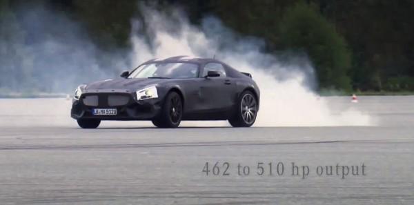 Mercedes-Benz AMG GT Teaser Video