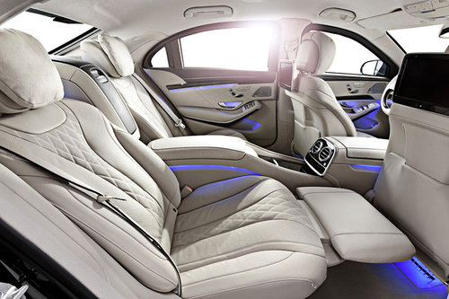 Mercedes-Benz S 600 Guard Innenraum