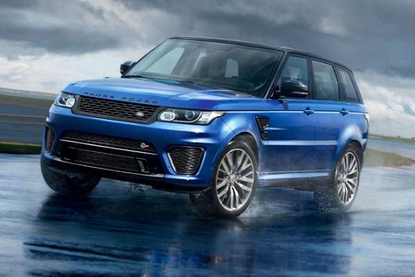 Neuer Range Rover Sport SVR