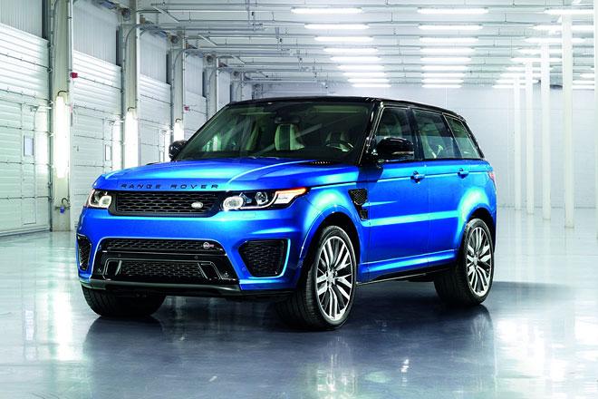 neuer range rover sport svr faszination autos. Black Bedroom Furniture Sets. Home Design Ideas