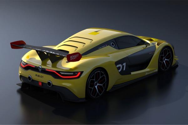 Renault Sport R.S. 01 Rennsportwagen