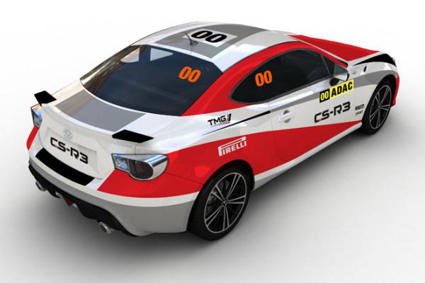 Toyota GT86 feiert debüt auf der deutschen Rallye
