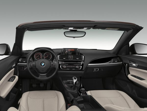 BMW 2er Cabrio Innenraum
