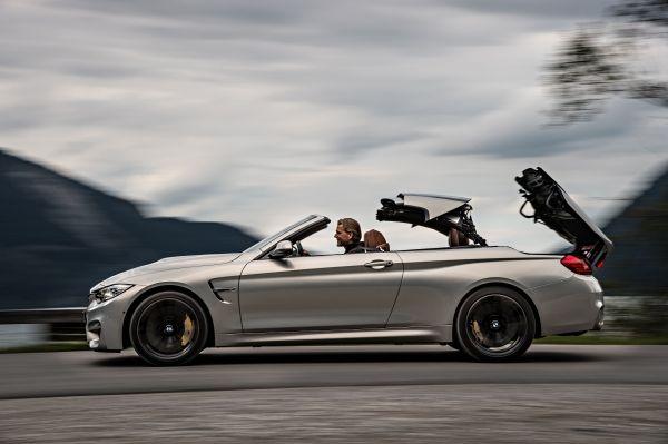 BMW M4 Cabrio Dach öffnen