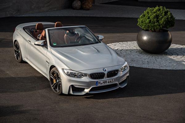 BMW M4 Cabrio Front Seite oben