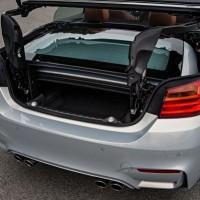 BMW M4 Cabrio Kofferraum mit zusammenklappbaren Dach