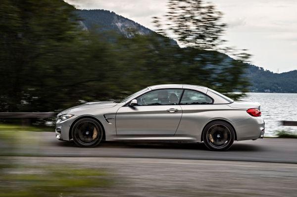 BMW M4 Cabrio geschlossen