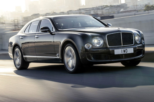 Bentley Topmodell Mulsanne mit 1.100 Nm