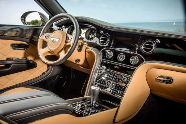 Bentley Innenraum