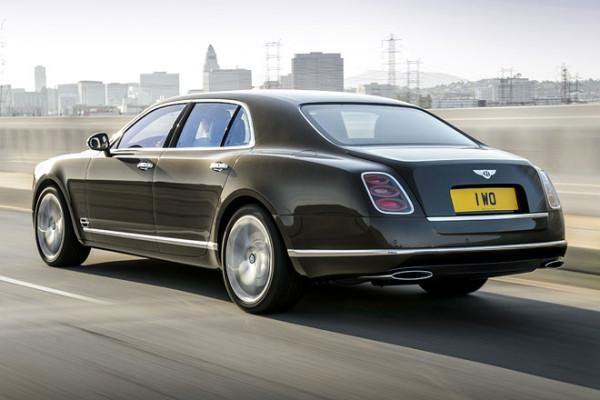 Bentley Rückseite