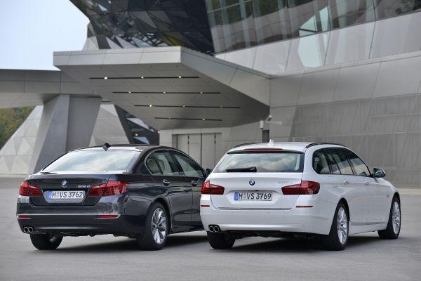Der neue BMW 518d  520d Touring Heck