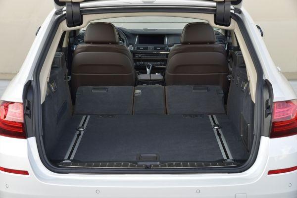 Der neue BMW 520d Touring Kofferraum