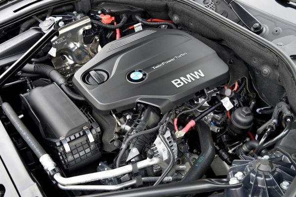 Die neue BMW 518d Limousine Motor