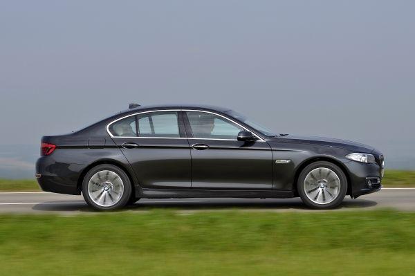 Die neue BMW 518d Limousine