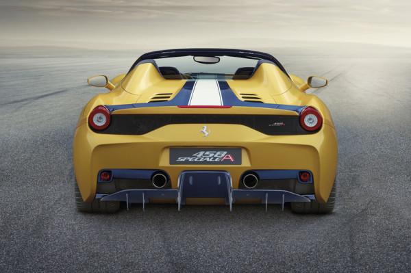 Ferrari 458 Speciale A Heck