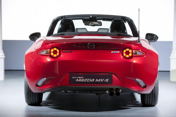 Mazda MX-5 Heck