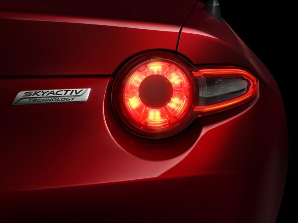 Mazda MX-5 Skyactiv Technologie Heck