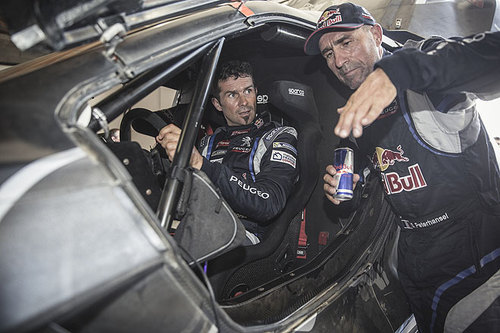 Peugeot 2008 DKR Stephane Peterhansel und Cyril Despres