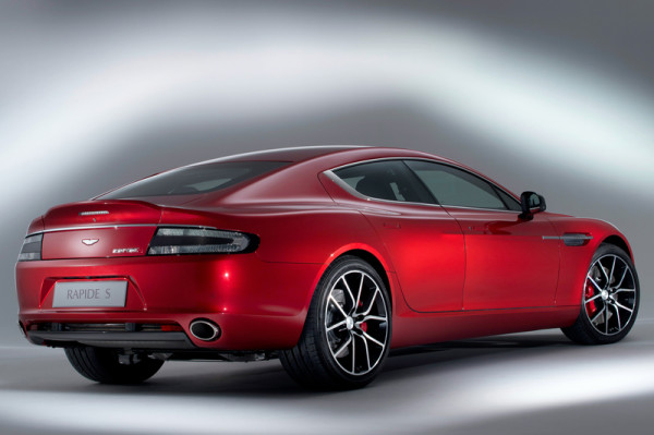Aston Martin Rapide S Heckansicht