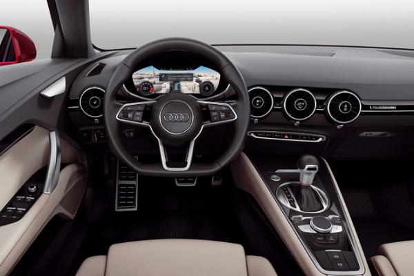 Audi TT Sportback Concept Cockpit Innenraum