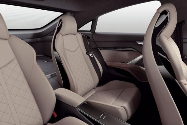 Audi TT Sportback Concept Sitze Innenraum