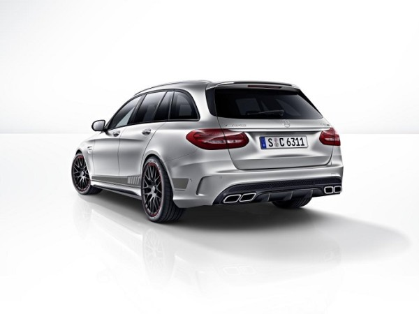 Mercedes-AMG-C63-Edition1 T-Modell Kombi Heck