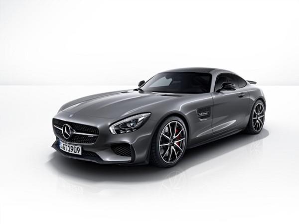 Mercedes-AMG-GT-S-Edition1 Front Seiten Ansicht