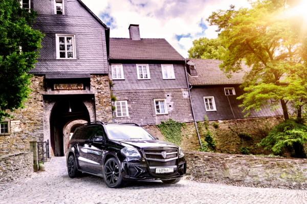 Mercedes-Benz GL Larte Front Hohenlimburg