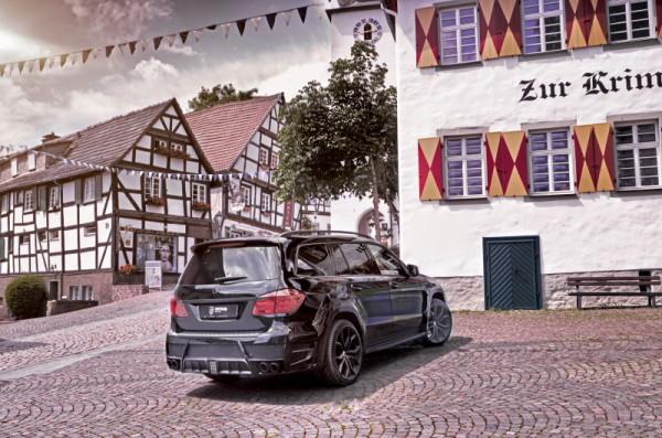 Mercedes-Benz GL Larte Heck Haus_zur_Krim