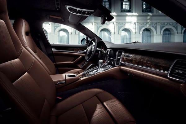 Porsche Panamera als Sondermodell Exklusive Series Cockpit Sitze